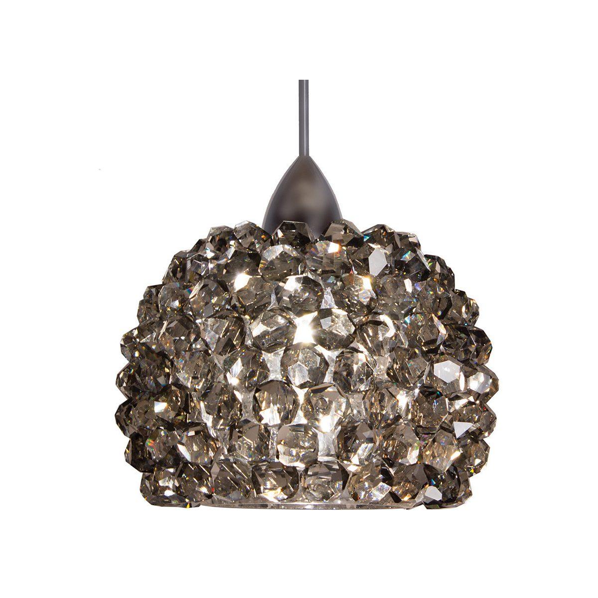 Led Diamond 1Clear CrystalBrushed Colgante Gia Lampara q5AjLc3R4