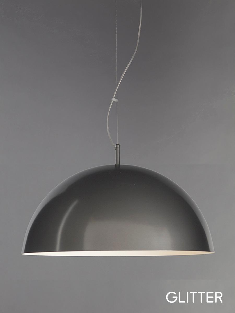 2d56606fa3 Lámpara Colgante Gris Domo 50 Cm Led Incluido Marca Glitter ...