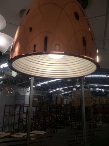 lámpara colgante guillen   cobre