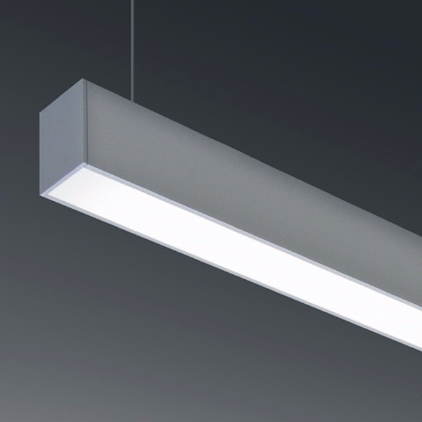 Superbe Lampara Colgante Led 40w Minimalista Luz Blanca Aluminio