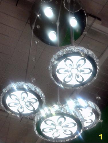 lampara colgante led luz blanca
