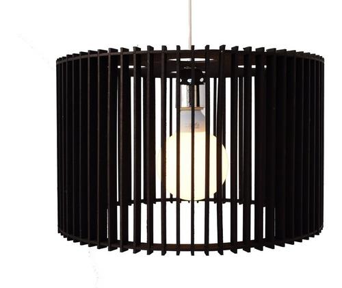 lampara colgante madera diseño modelo medium 40