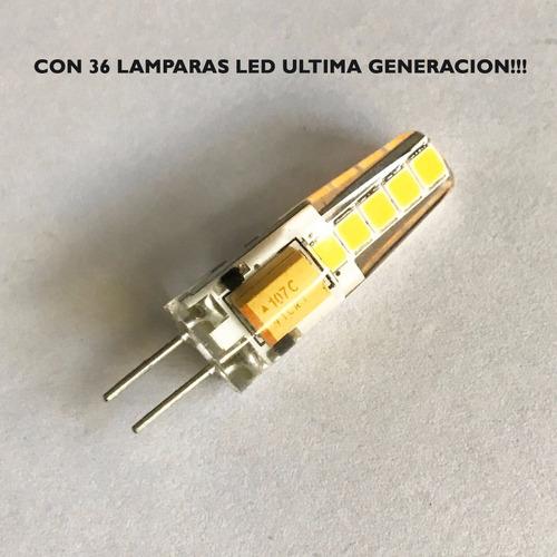 lampara colgante moderna araña flexi 36 luces led incluidas