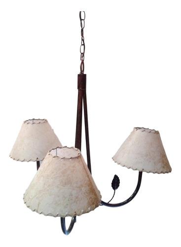 lampara colgante moderna araña living velador led