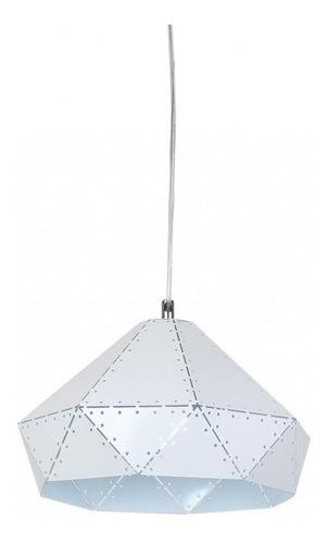 lampara colgante moderna cocina campana blanca apto led