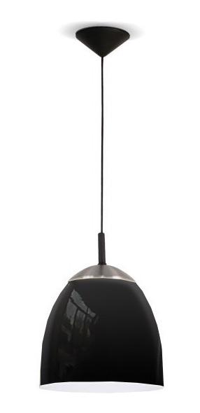 Moderna Lampara Negro Metalizado De Colgante Interior 8ym0wOvnN