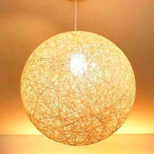 lampara colgante modernas hilo 55 cm de diametro
