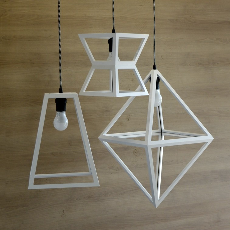 Lampara Colgante Pch Diseño Geometrica Luminaria De Techo - $ 3.780 ...