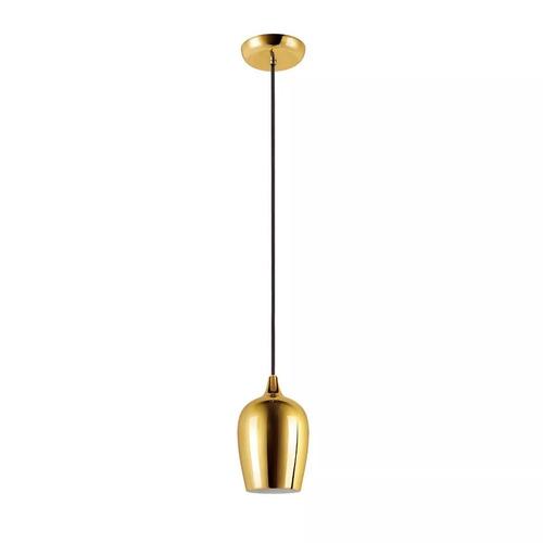 lámpara colgante philips campana dorado cromado cobre negro
