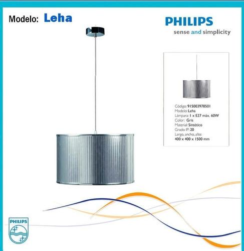 lampara colgante philips leha