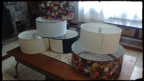lampara colgante redonda varios diseños