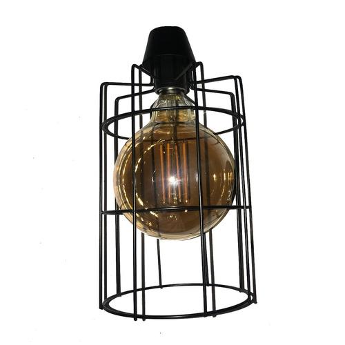 lampara colgante rejilla con 3 estilos de focos a elegir lr2