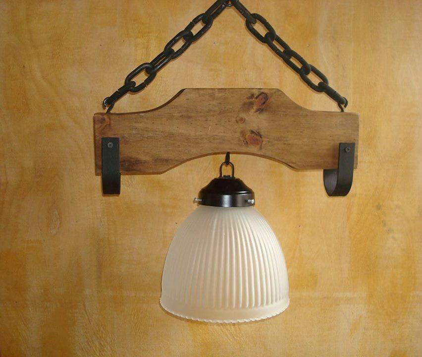 Como hacer lamparas rusticas como hacer lamparas rusticas for Lamparas cocinas rusticas