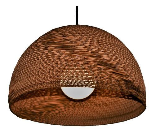lampara colgante semicírculo 35 decart iluminacion sustentab