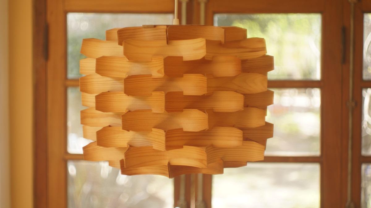 Como hacer lamparas de madera amazing como hacer lamparas de madera with como hacer lamparas de - Lamparas de techo madera ...