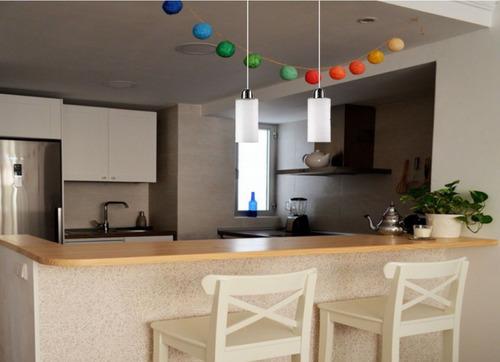Lampara Colgante Techo Living Comedor Cocina 12 Cuotas - $ 1.138,50 ...