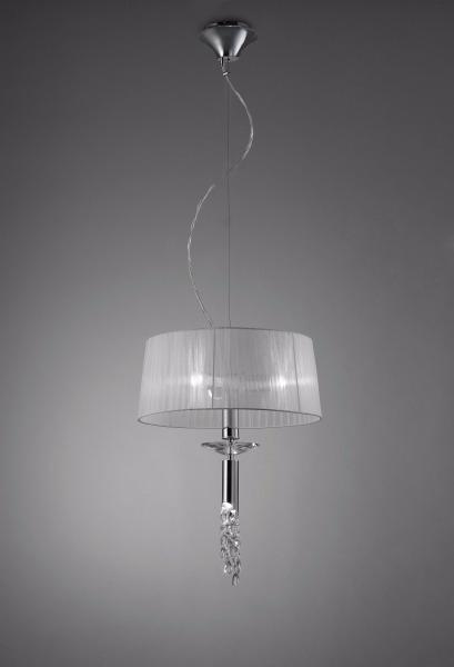 Lampara Colgante Tiffany 3 Luces Diseño Apto Led Artyluz Lgp ...