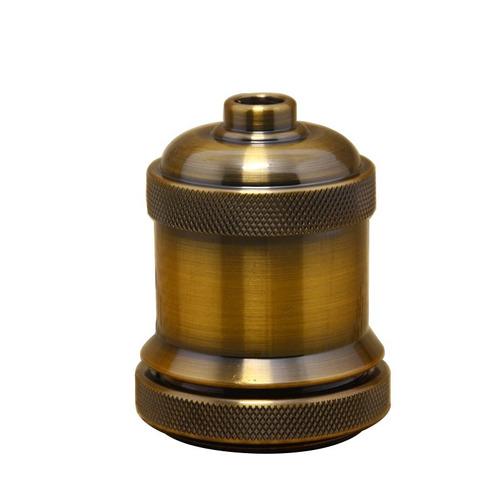 lampara colgante vintage color bronce
