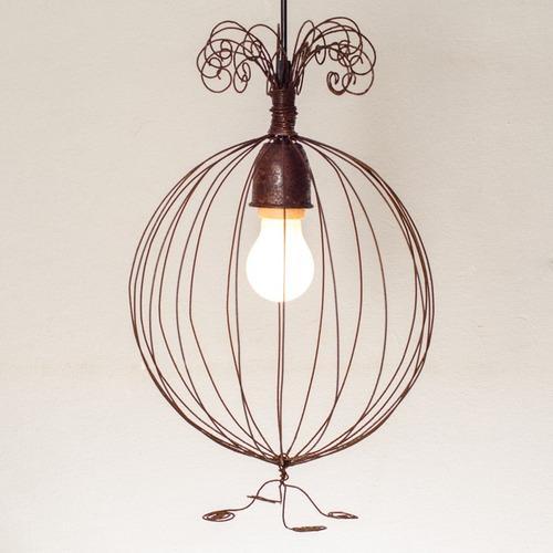 lampara colgante vintage dormitorio luz cod 002