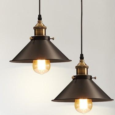 L mpara colgante vintage lc639 1 en mercado libre - Lamparas colgantes minimalistas ...