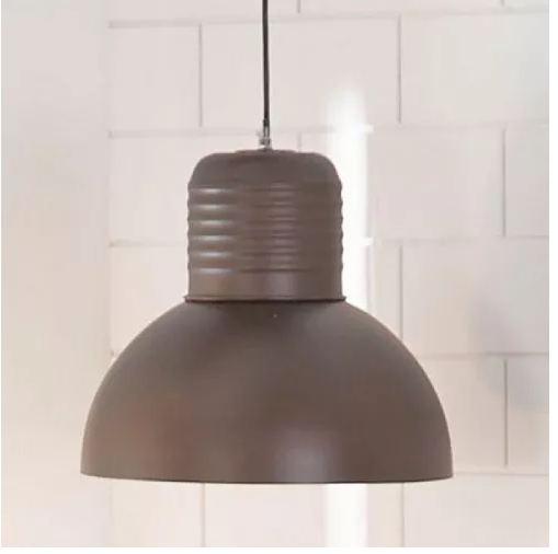 Lámpara Colgar 1l E27 60w Acra Camp Choc Colgante Barata Ea