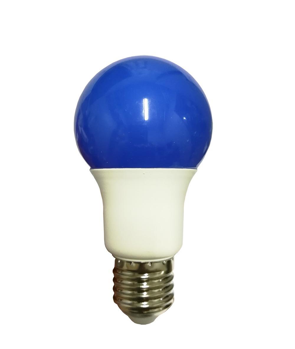 E27 Luz Azul Bulbo E27 Led 6w Color Lámpara Lj5R4A