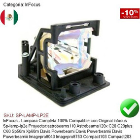 Infocus SP-LAMP-058 SPLAMP058 OSRAM P-VIP280//1.0cE20.6 Bare Lamp