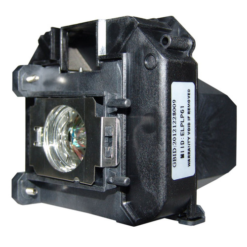 lámpara con carcasa para epson 435wi proyector proyection