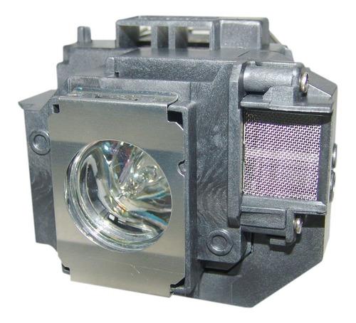 lámpara con carcasa para epson elp-lp55 / elplp55 proyector