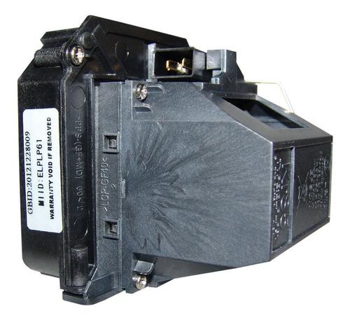 lámpara con carcasa para epson v13h010l61 proyector