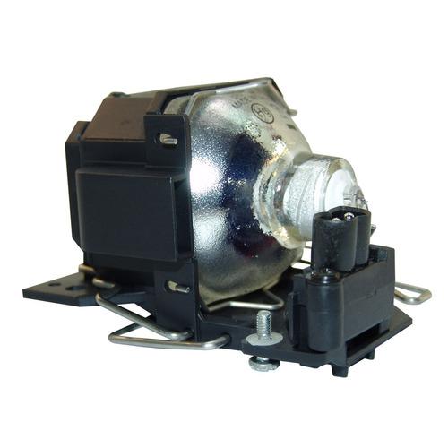 lámpara con carcasa para hitachi hcp75x proyector