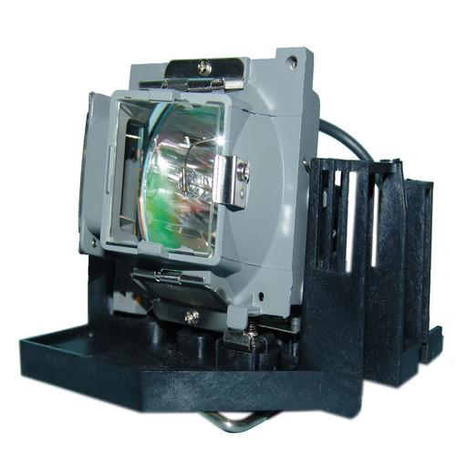 lámpara con carcasa para optoma ezpro 772 proyector