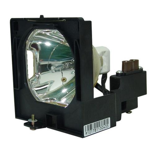 lámpara con carcasa para sanyo plv-60k / plv60k proyector
