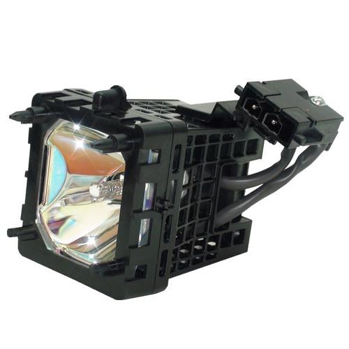 lámpara con carcasa para sony xl-5200u / xl5200u televisión