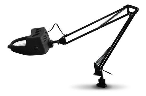 lampara con lupa articulada multiuso de mesa full 220v lente 4 pulgadas vidrio