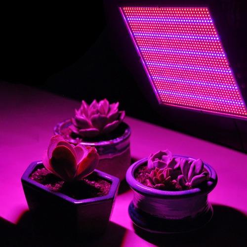 lampara crecimiento hidroponía luz led espectro 120w inverna