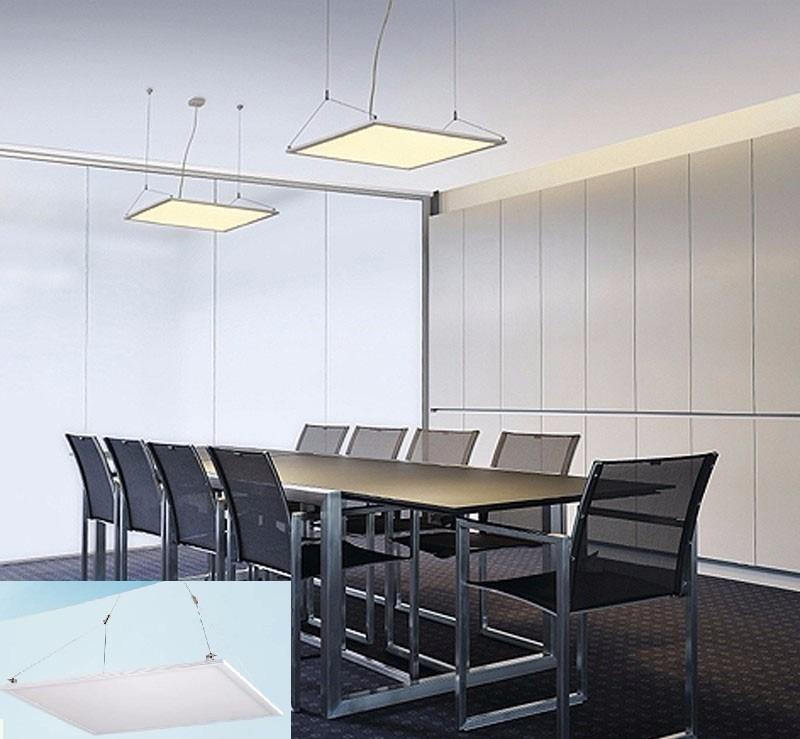 lmpara d techo plafn aplique panel led w candil moderna with lamparas de techo modernas led