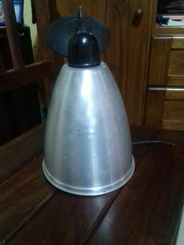 lampara de aluminio