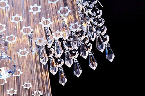 lámpara de araña de cristal de san mossi modern k9 lámpara d