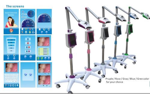 lampara de blanqueamiento dental con cámara  odontologia