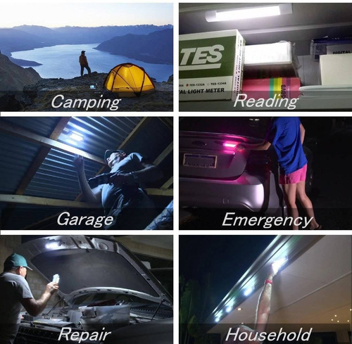 lámpara de camping portátil led, linterna de  + envio gratis