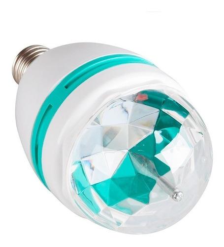 lámpara de colores giratoria rgb led 360 grados oferta loi