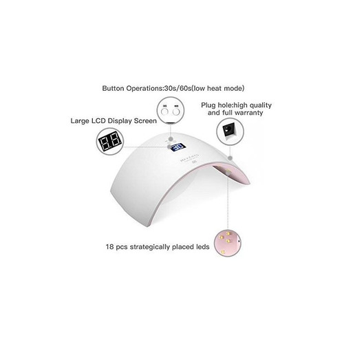lámpara de curado ultravioleta del secador del clavo de mayc