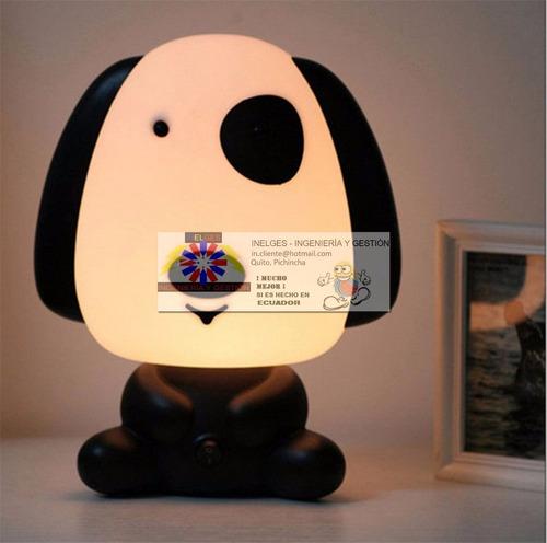 lámpara de dormir, modelo cachorro pirata