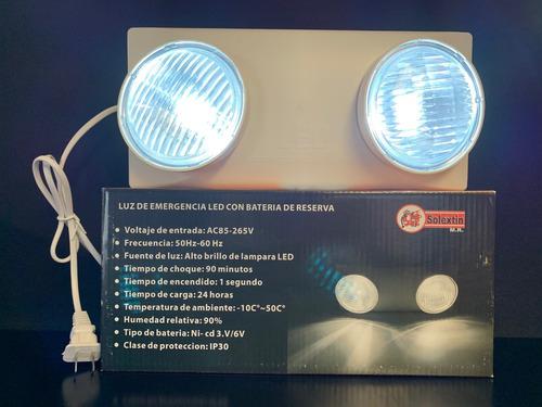 lampara de emergencia