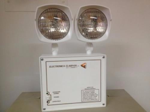 lampara de emergencia clarivox