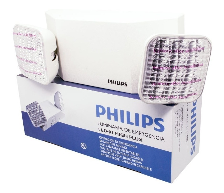Lampara Emergencia De Lampara De Led Philips Emergencia nwPk08OX