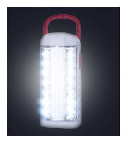 lampara de emergencia portatil recargable 14 leds +1 luz