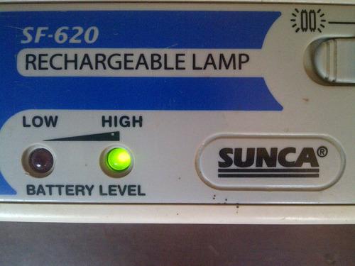 lampara de emergencia sunca tubos fluorescentes modelo sf620