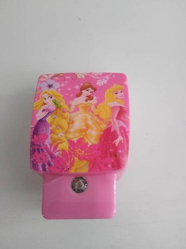 lampara de enchufe infantil niña princesas